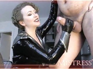 Best sissy trainer by Mistress T mature handjob bisexual video