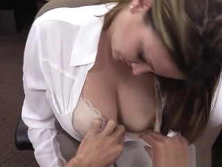 Bigtitted pawning wife pounded for money amateur big tits hidden cam video