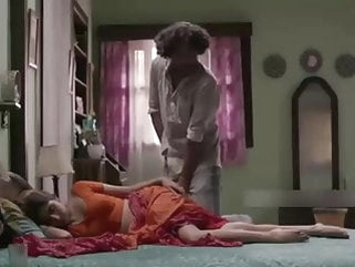 Indian devar masterbating on sleeping bhabhi legs cum on leg milf indian softcore video