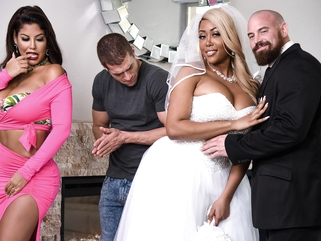 Bridgette B & Moriah Mills & Xander Corvus in Moriahs Wedding Shower - BRAZZERS big ass big tits european video