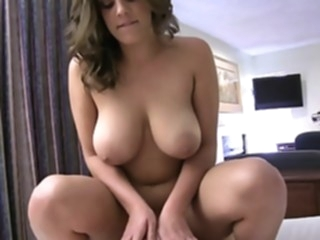 Fat girlfriend riding on a cock point of view big tits hardcore video